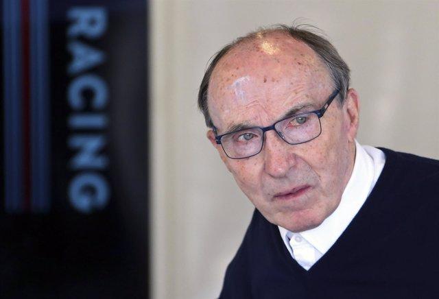Frank Williams, Jefe De La Escudería Británica Que Lleva Su Nombre