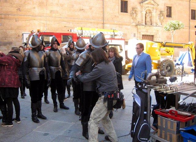 Rodaje del episodio piloto en Salamanca