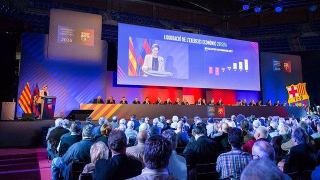Asamblea del FC Barcelona