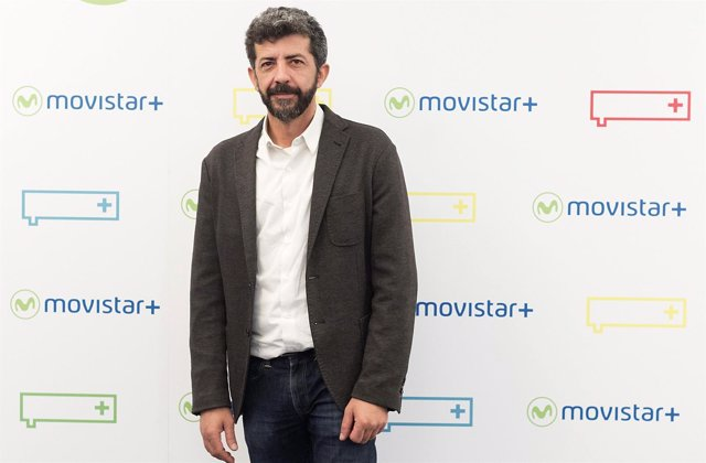 Alberto Rodríguez en la presentación de 'La peste' de Movistar+