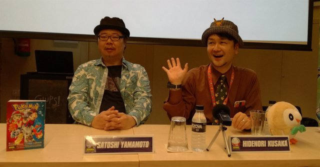 Los autores de Pokémon, Hidenori Kusaka y Satoshi Yamamoto