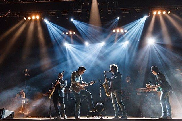 Un concierto de Brothers in band
