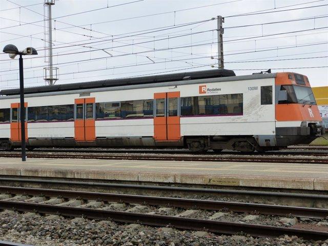 Tren de Rodalies. AVE, cercanías, vías
