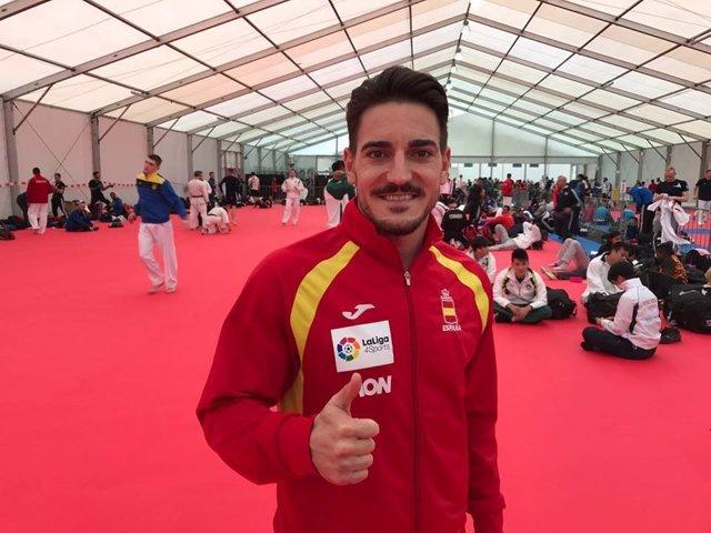 Damián Quintero subcampeón mundo kata
