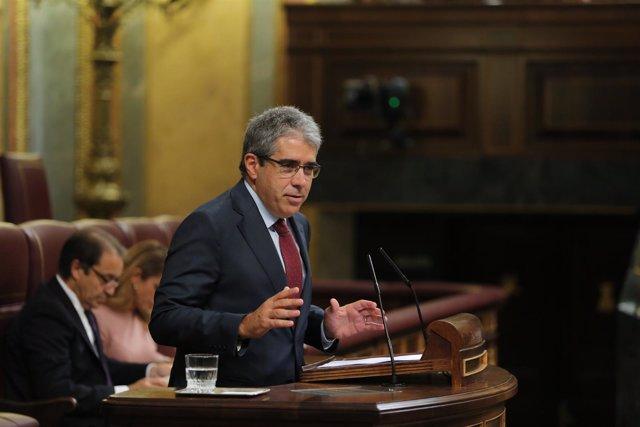 Francesc Homs en el debate de investidura