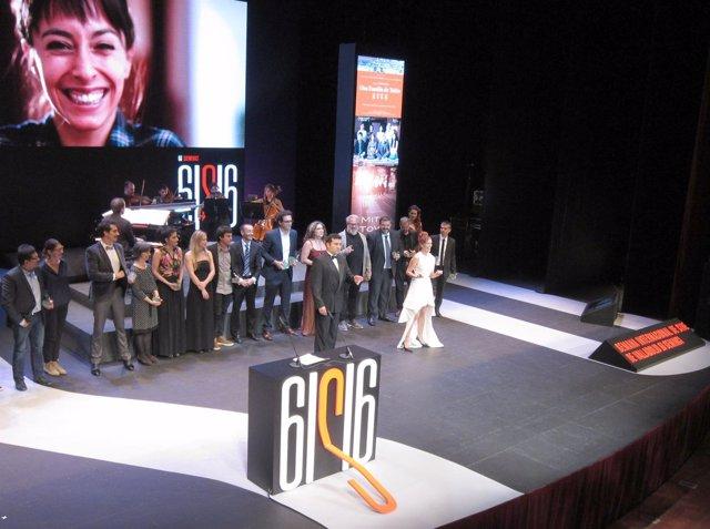 Imagen de la Gala de Clausura