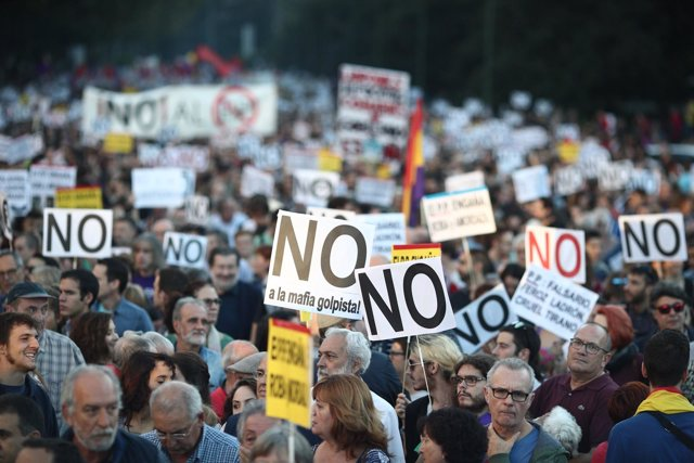 Manifestación Rodea el Congreso
