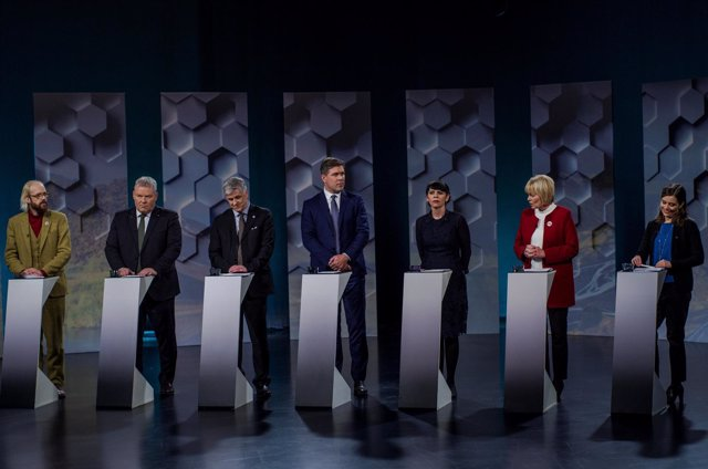 Elecciones Islandia