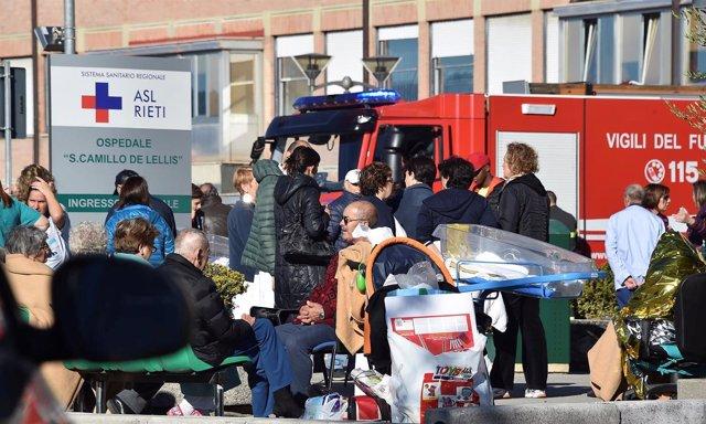 Terremoto Norcia - Italia Octubre 2016