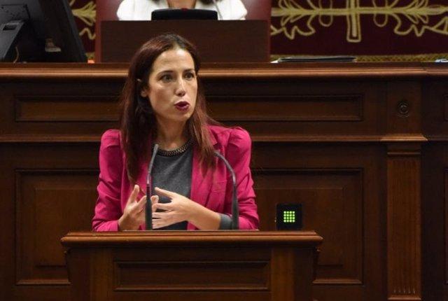 Patricia Hernández en comparecencia parlamentaria