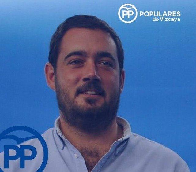 Nacho Toca, presidente de NNGG del PP de Vizcaya