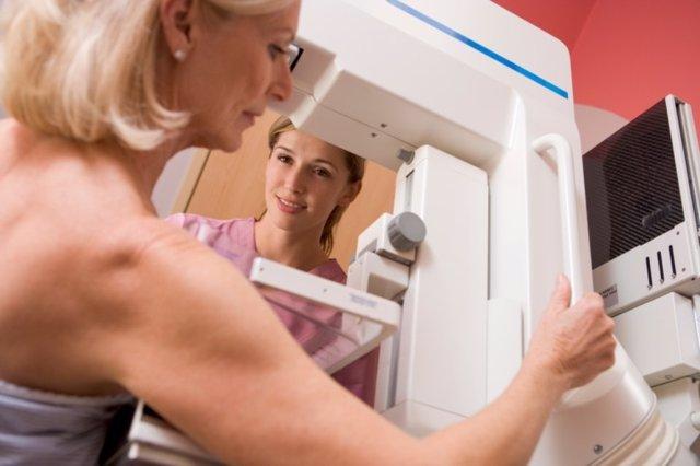 Mamografía, cáncer de mama, pecho, mujer.