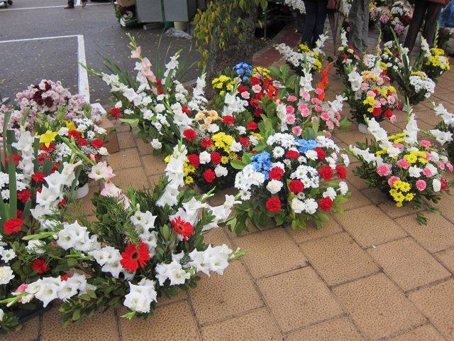 Flores Cementerio
