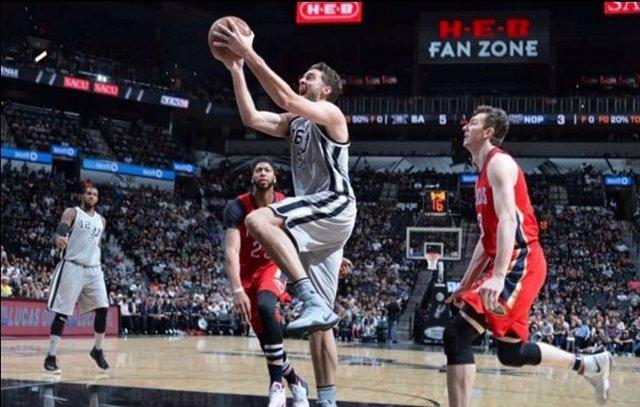 Pau Gasol San Antonio Spurs New Orleans Pelicans
