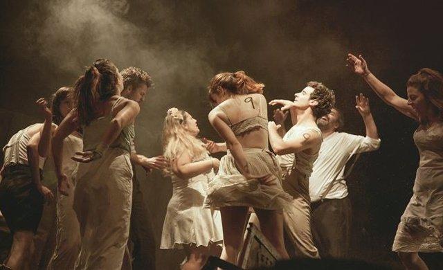 Imagen de la obra 'Danzad Malditos'