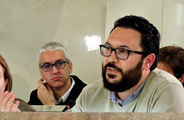 El concejal socialista en Almería Cristóbal Díaz