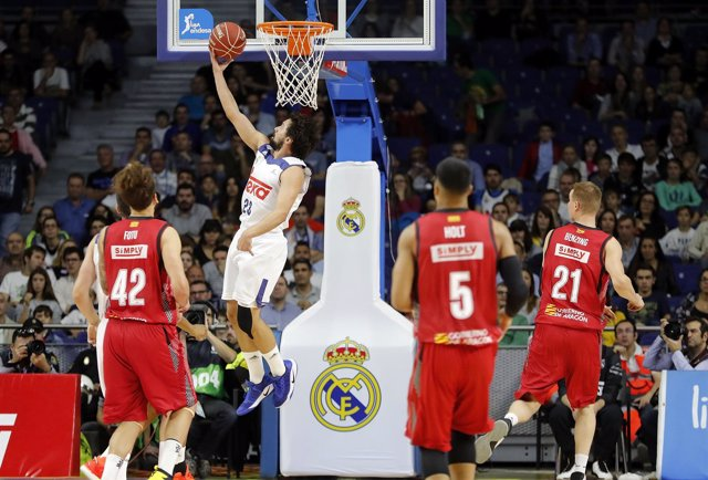 Sergio Llull Real Madrid Tecnyconta Zaragoza ACB Liga Endesa