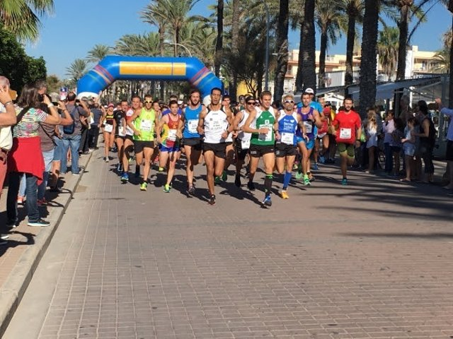 I Running Course 10 Km Palma Beach