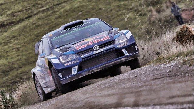 Sébastien Ogier Rally Gales