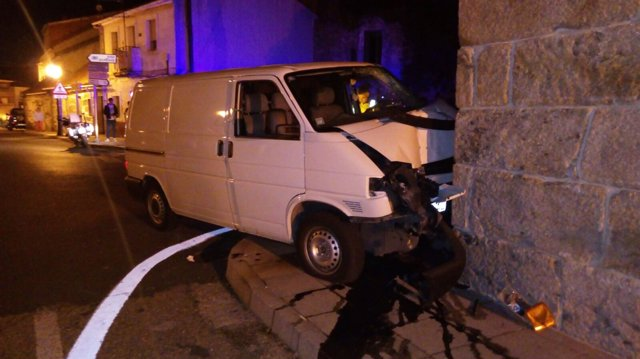 Accidente de tráfico en A Cañiza