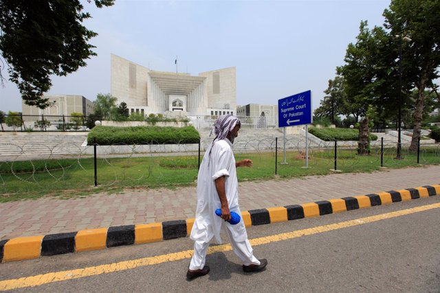 Sede del Tribunal Supremo de Pakistán