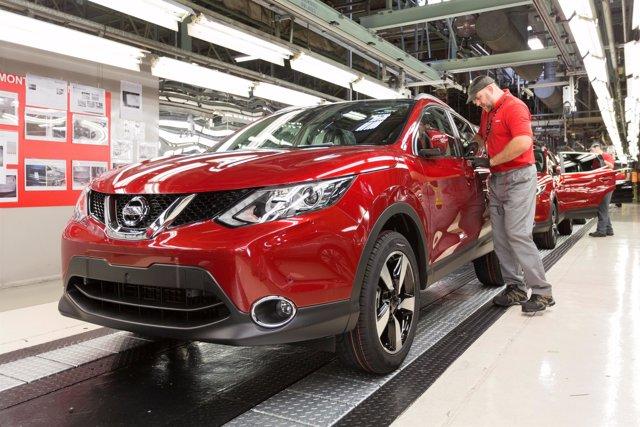 Producción del Nissan Qashqai en Sunderland (Reino Unido)