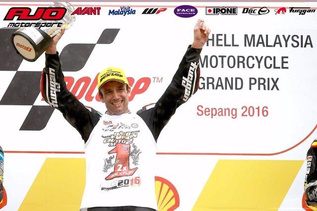 Johann Zarco campeón Moto2 Malasia