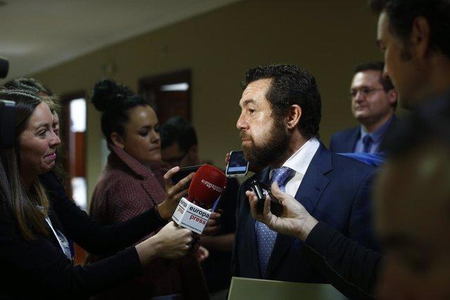 Miguel Ángel Gutiérrez, de Ciudadanos, en el Congreso