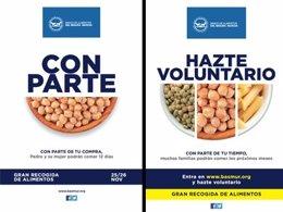 Portavoz crea la nueva campaña para 'La gran recogida'