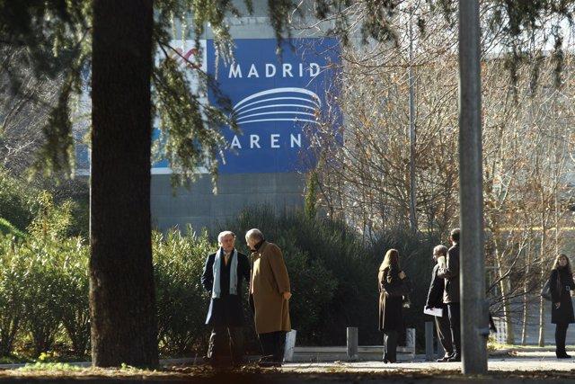 Nueva inspección ocular del Madrid Arena