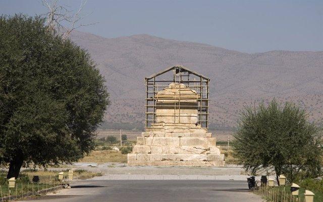 La tumba del rey persa Ciro 'el Grande'.