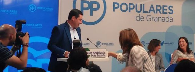 Comité Ejecutivo Regional del PP andaluz celebrado en Granada