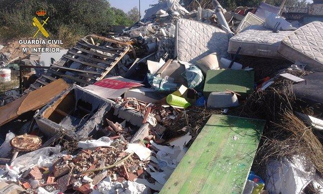 Escombros en Palma
