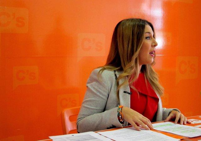 La coordinadora de Ciudadanos en Andalucía, Raquel Morales.