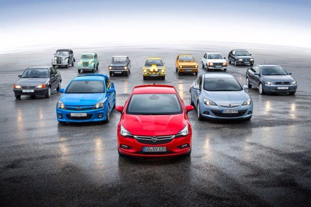 Modelos compactos de Opel