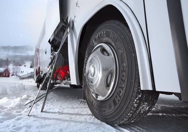 Neumáticos de invierno de Continental para autobuses
