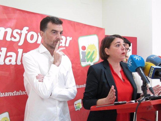 Maíllo y Cortés en la rueda de prensa