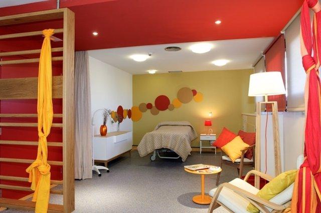 Imagen de la sala del Hospital