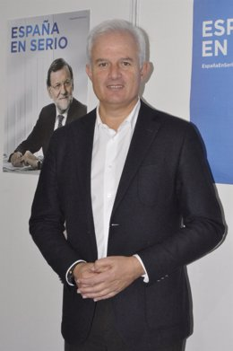 El cabeza de lista del PP-Zaragoza al Congreso, Eloy Suárez.