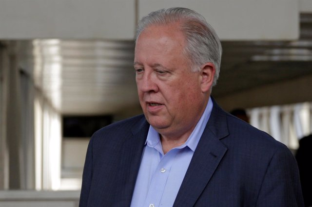 El enviado especial de EEUU a Venezuela, Thomas Shannon.