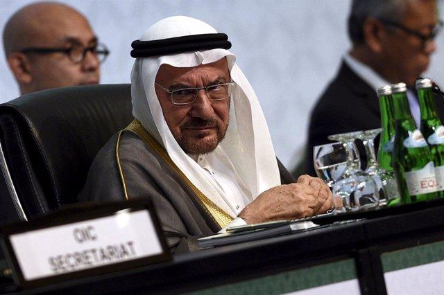 El secretario general de la OCI, Iyad Madani