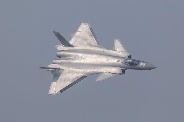 El caza 'invisible' chino J20 Chengdu