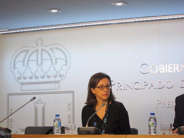 La consejera de Infraestructuras Belén Fernández