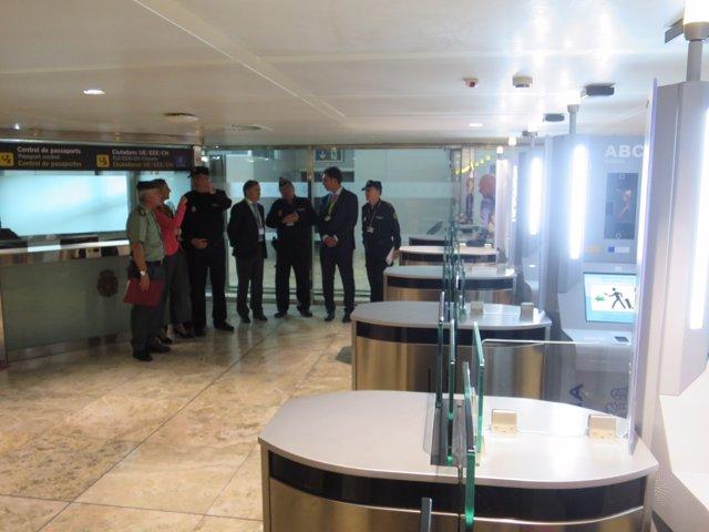 Sistema de control de fronteras en el Aeropuerto de Alicante-Elche
