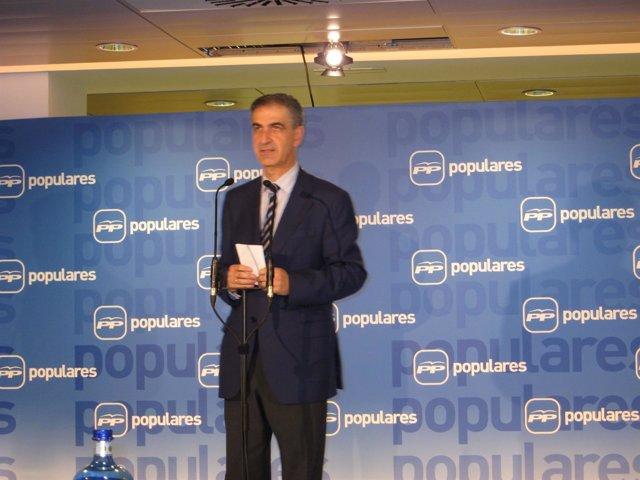 Leopoldo Barreda, Portavoz Del PP Vasco