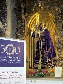 Imagen de Jesús Nazareno en la iglesia de San Julián y Santa Basilisa