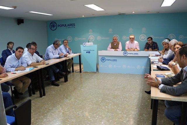 Juan Bueno (PP) valora los presupuestos de la Junta de Andalucía 2017