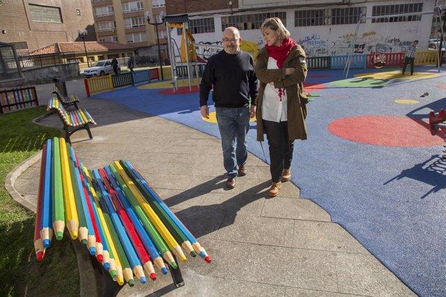 Renovación del parque infantil de la Plaza de la Constitución