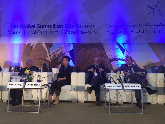 Julio Andrade en la quinta cumbre mundial de turismo urbano de la OMT