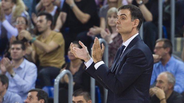Georgios Bartzokas, entrenador del FC Barcelona Lassa